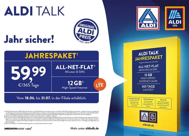 Aldi Talk Daten