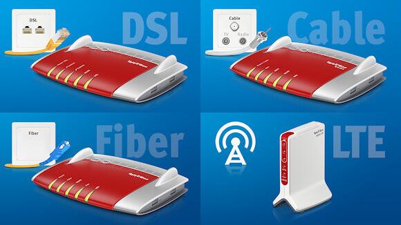 Avm weitere details zu neuen fritz box modellen - Glasfaser mobel ...