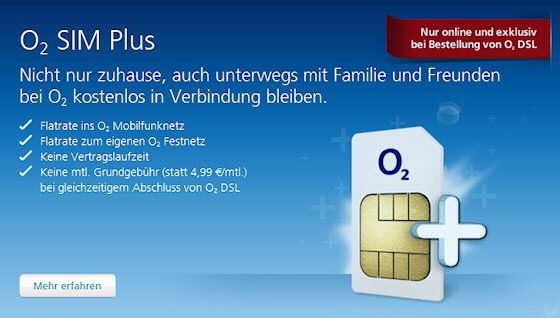 O2 Kostenlos Sim Karte Bestellen