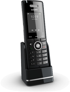 snom neues telefon m65 und dect multizellen basisstation. Black Bedroom Furniture Sets. Home Design Ideas