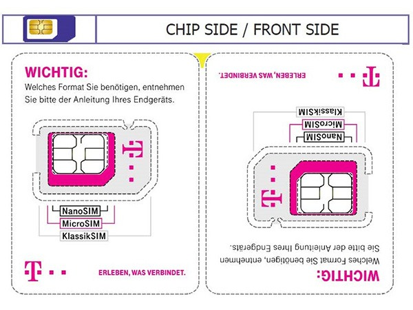 Nano Sim Karte Bilder.Telekom Setzt Auf Neues Format Bei Sim Halterung Tarif4you De